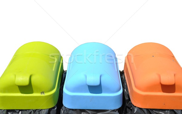 Recycle containers Stock photo © luissantos84