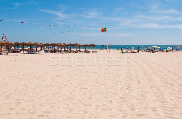 Montegordo beach Stock photo © luissantos84