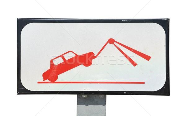 Tow sign Stock photo © luissantos84