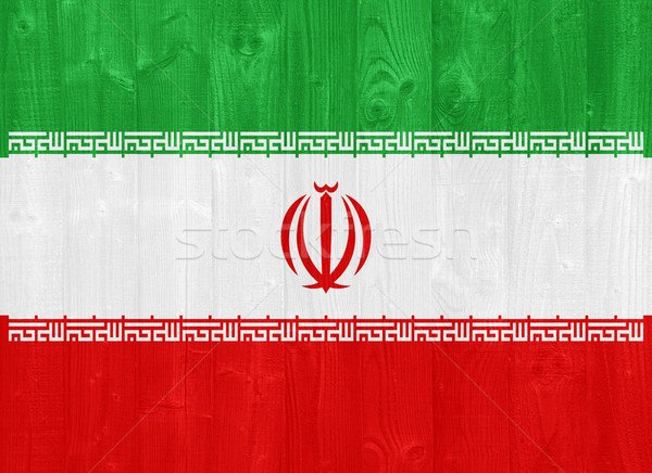 Iran flag Stock photo © luissantos84