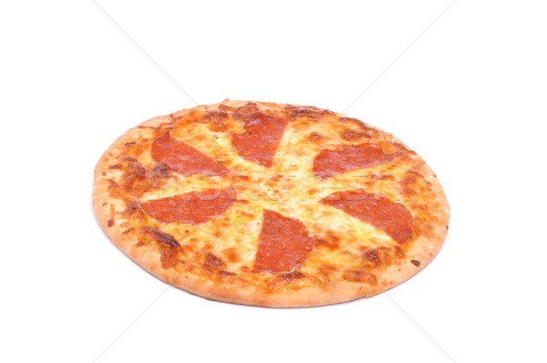 Pepperoni pizza Stock photo © luissantos84