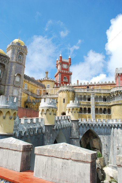 National Palace of Pena in Sintra, Portugal Stock photo © luissantos84