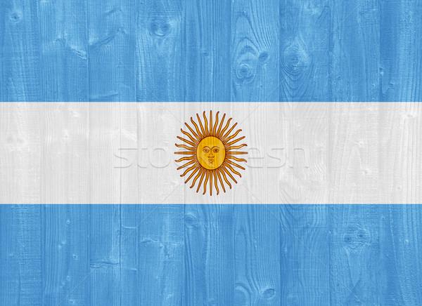 Argentina flag Stock photo © luissantos84