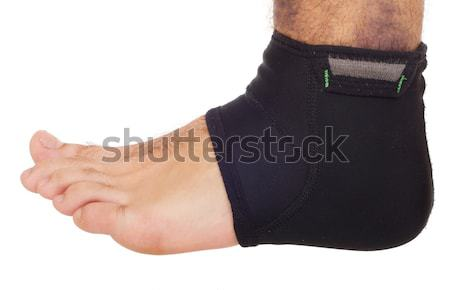 Ankle sprain support Stock photo © luissantos84