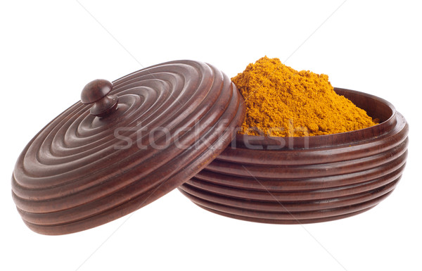 Curcuma on bowl Stock photo © luissantos84