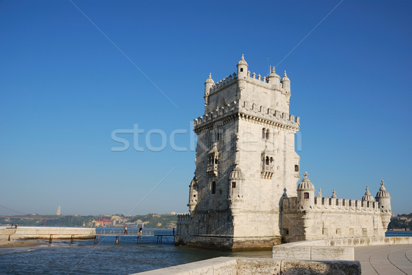 Belem Tower in Lisbon Stock photo © luissantos84