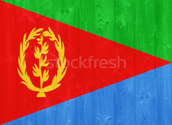 Eritrea flag Stock photo © luissantos84