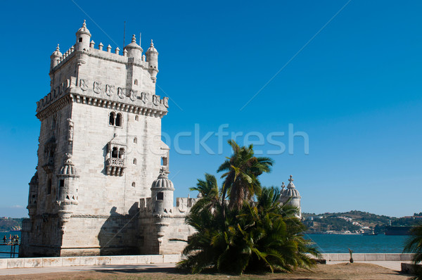 Belem Tower in Lisbon Stock photo © luissantos84