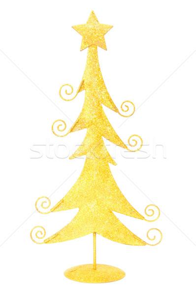 рождественская елка украшение изолированный белый Сток-фото © luissantos84