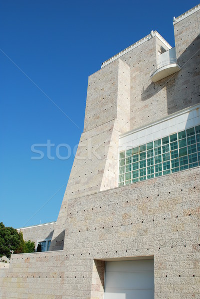 Modern architecture in Lisbon (CCB) Stock photo © luissantos84