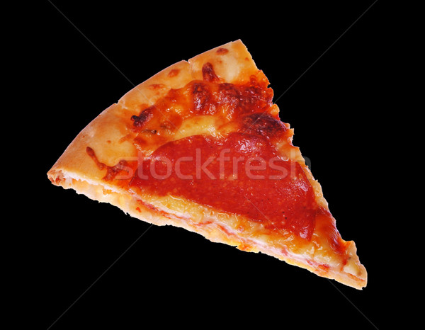 Pepperoni pizza Stock photo © luissantos84