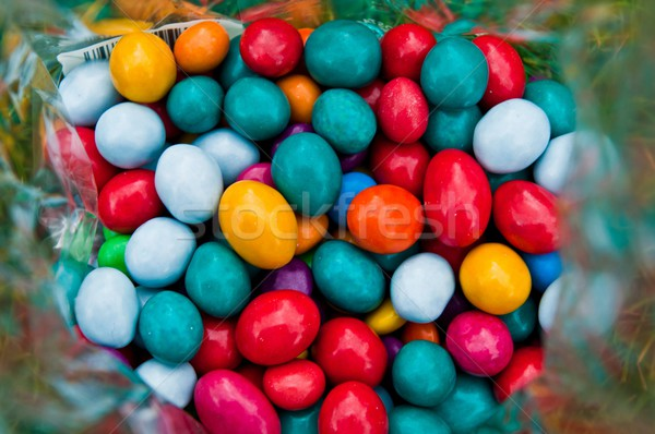 Colorful chocolates candies Stock photo © luissantos84