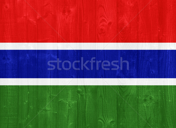The Gambia flag Stock photo © luissantos84