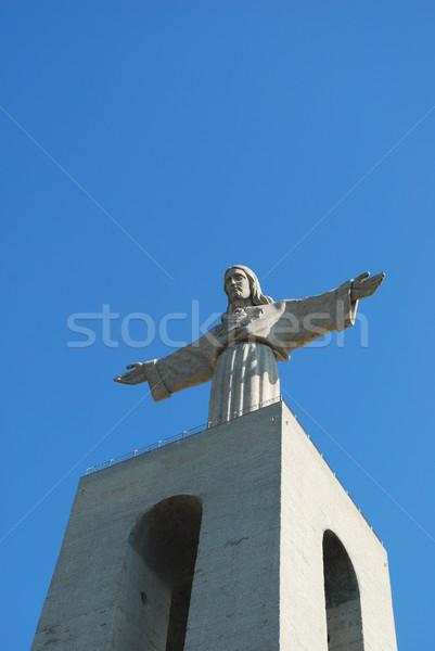 Cristo Rei in Lisbon Stock photo © luissantos84