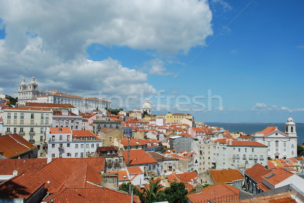 City view of the Capital of Portugal, Lisbon Stock photo © luissantos84