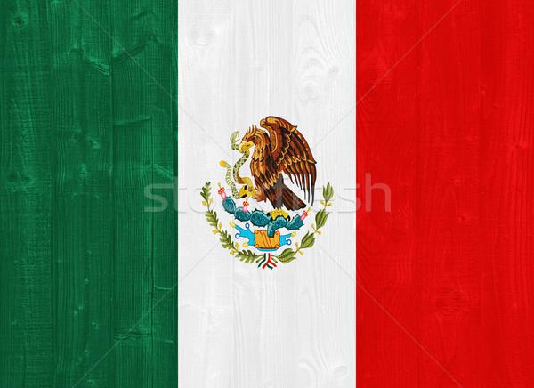 Stock photo: Mexico flag