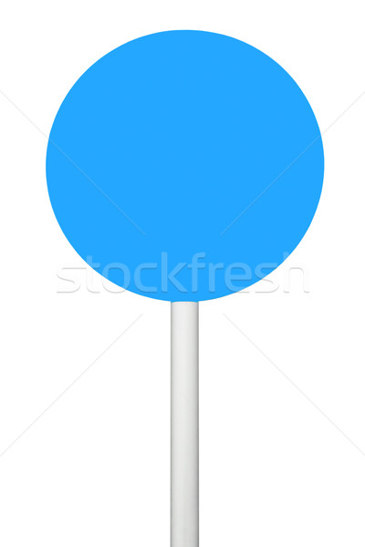 Blue sign Stock photo © luissantos84