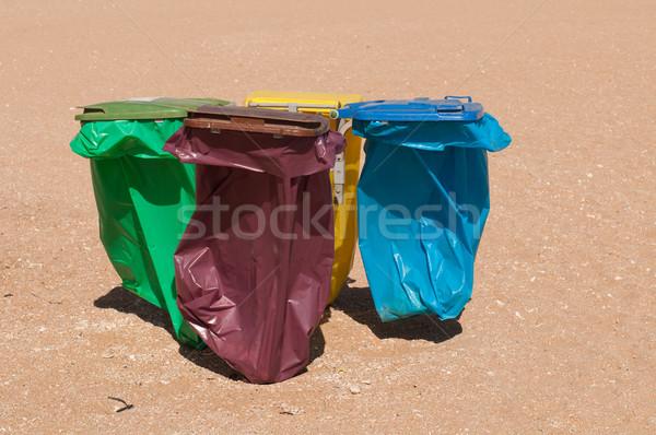 Recycle bins  Stock photo © luissantos84