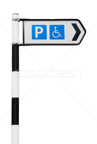 Parking sign Stock photo © luissantos84