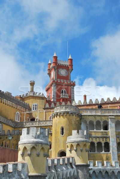 宮殿 ポルトガル 有名な 1 7 家 ストックフォト © luissantos84