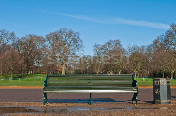 Bench in Hyde Park Stock photo © luissantos84