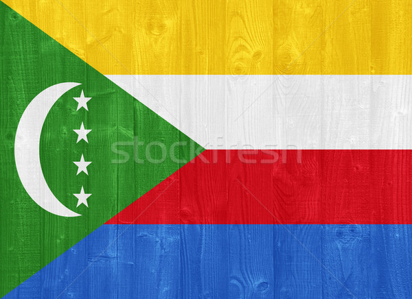 Comoros flag Stock photo © luissantos84