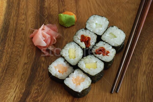 Сток-фото: суши · продовольствие · высокий · качество · фото · еды