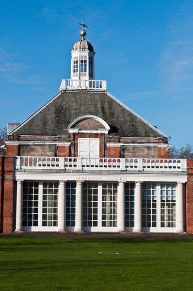 Galleria giardini Londra Inghilterra cielo costruzione Foto d'archivio © luissantos84