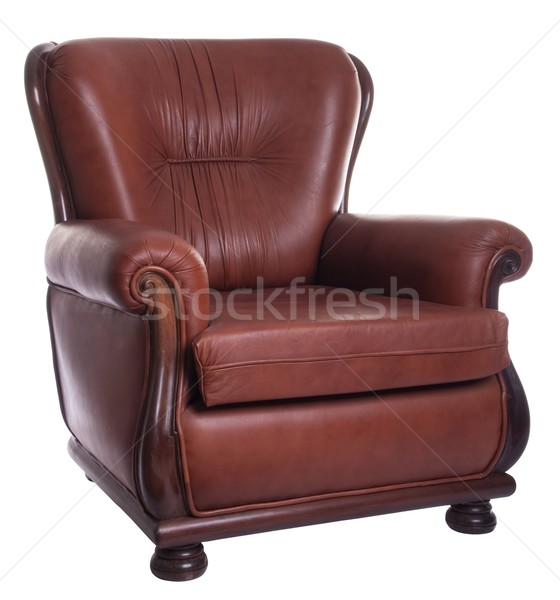 Leather armchair Stock photo © luissantos84