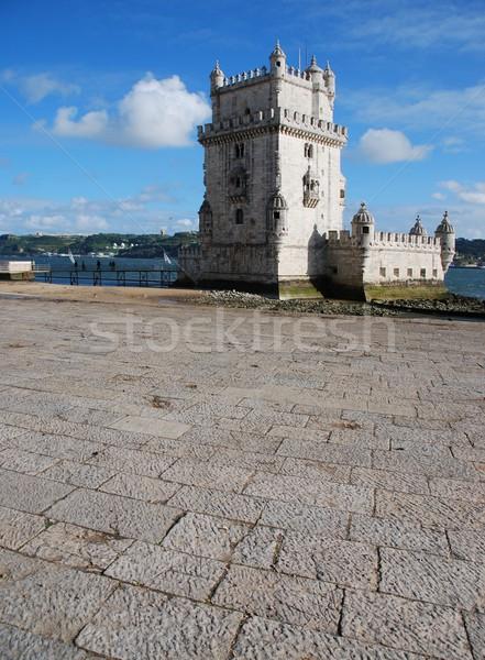 Turm Lissabon Portugal Ansicht ein berühmt Stock foto © luissantos84
