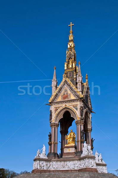 Albert Memorial in Kensington Gardens Stock photo © luissantos84