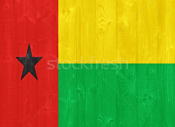 Guinea Bissau flag Stock photo © luissantos84