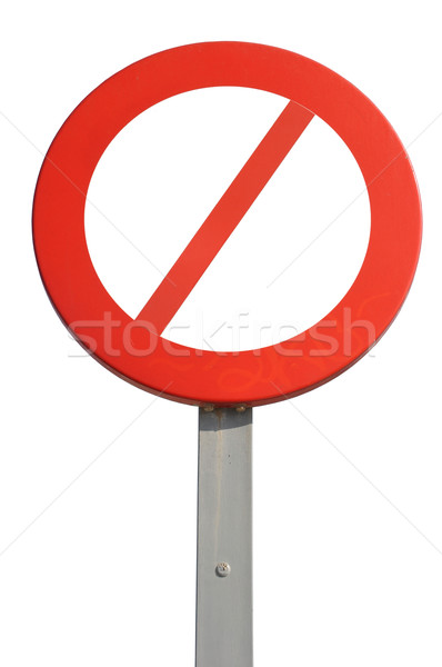 Prohibited sign Stock photo © luissantos84