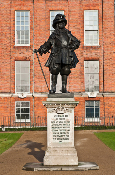 Statue of King William III Stock photo © luissantos84
