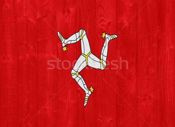 The Isle of Man flag Stock photo © luissantos84