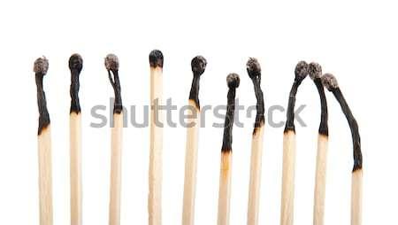 Burnt matches Stock photo © luissantos84