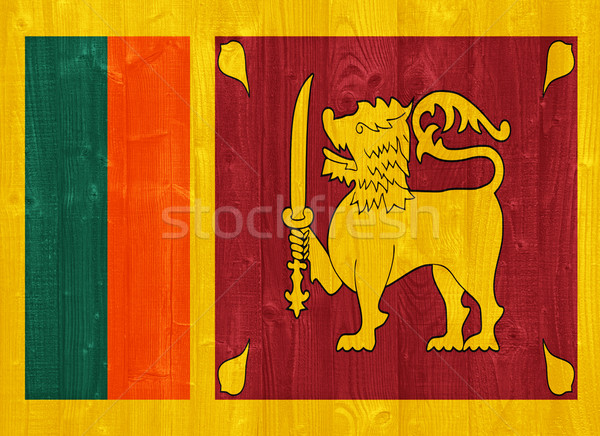 Sri Lanka flag Stock photo © luissantos84