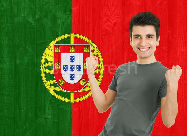 Portuguese Sports Fan Stock photo © luissantos84