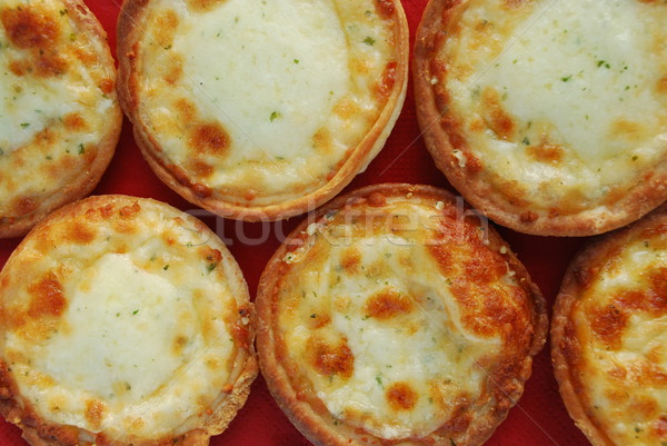 Three cheese piccolinis starter Stock photo © luissantos84