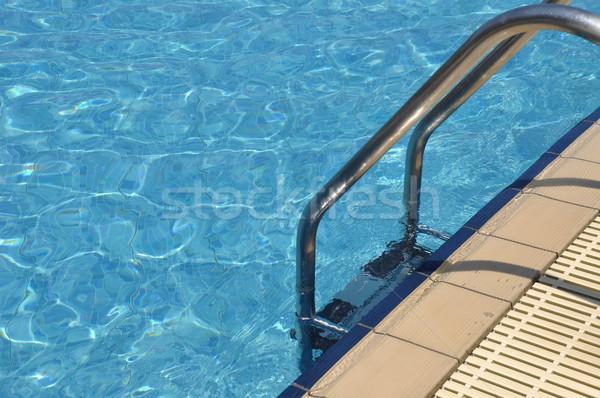 Swimming pool ladder Stock photo © luissantos84