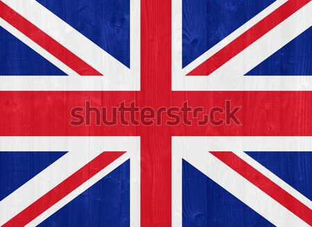 Royaume-Uni pavillon peint bois planche Photo stock © luissantos84