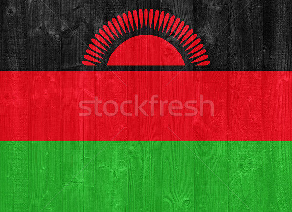 Malawi flag Stock photo © luissantos84