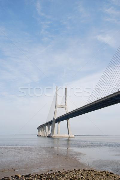 Ponte Lisbona Portogallo Europa acqua mare Foto d'archivio © luissantos84