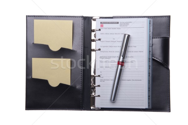 Business agenda Stock photo © luissantos84