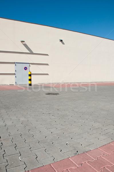 Industrial armazém ver edifício Foto stock © luissantos84