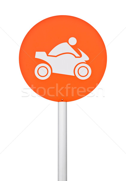 Motorbike sign Stock photo © luissantos84