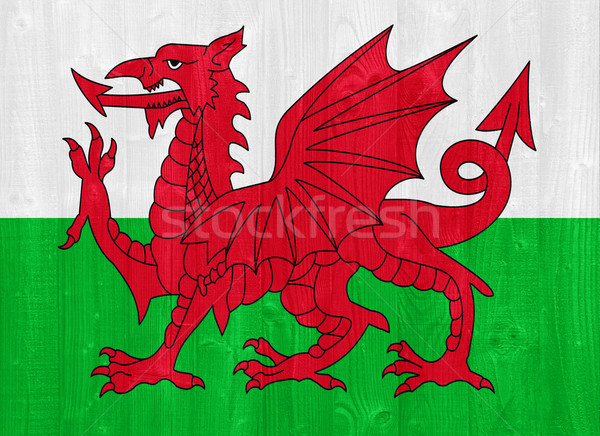 Wales flag Stock photo © luissantos84