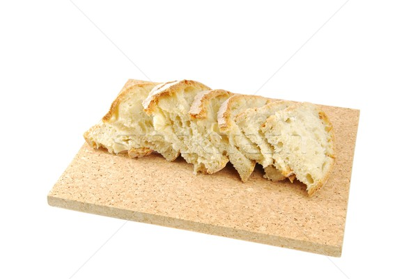 Slices of homemade cantle bread Stock photo © luissantos84