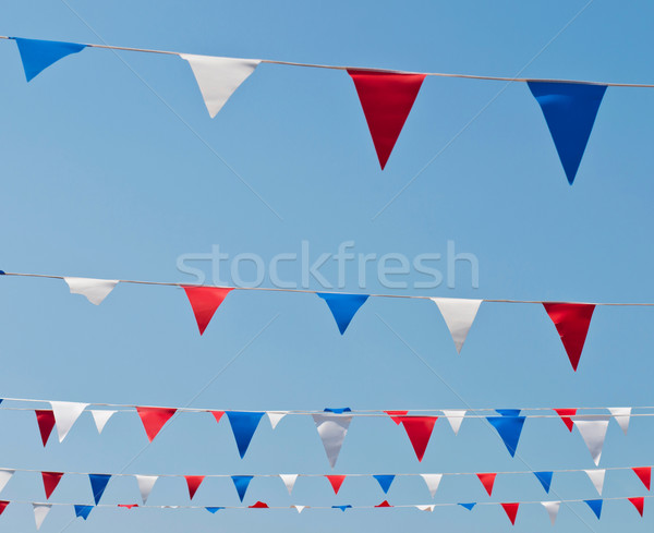 Bunting flags Stock photo © luissantos84