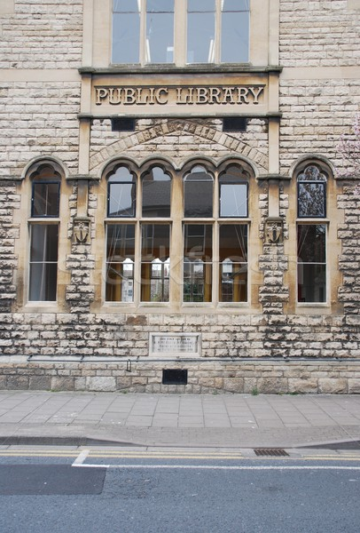 Public library in Gloucester Stock photo © luissantos84